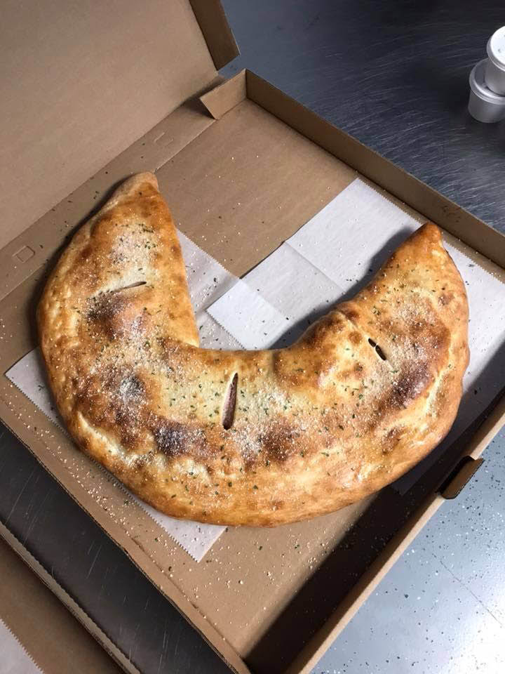 Stromboli or calzone - McKee Deli in East Freedom, PA has both on the menu