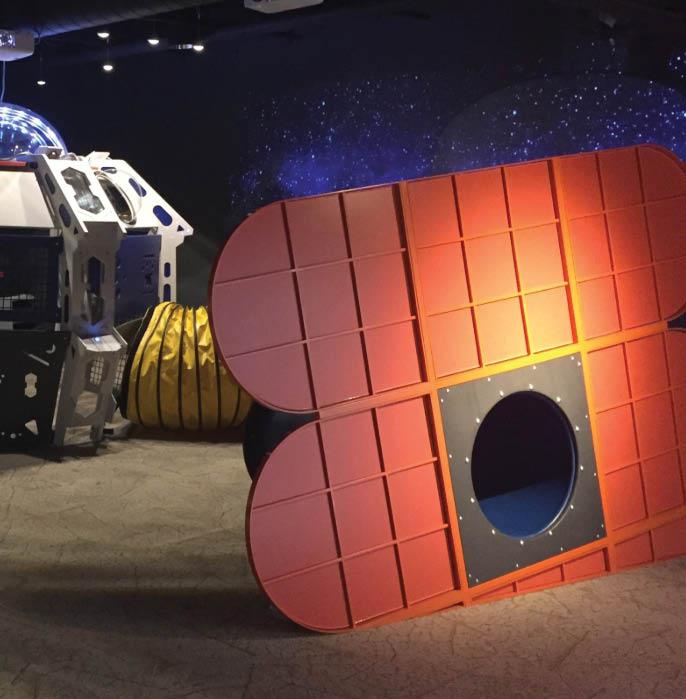 Minnesota Children's Museum St. Paul mn space exhibit