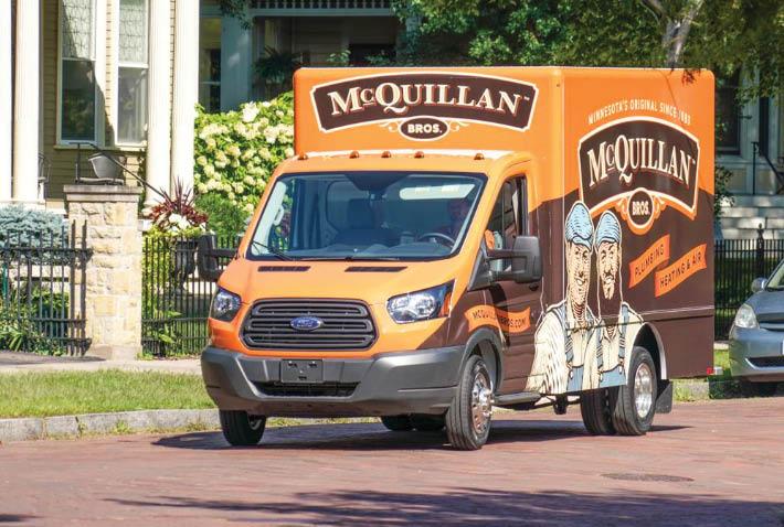 McQuillan Bros truck