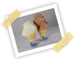 The Meadows Original Frozen Custard ice cream - a delicious summer treat