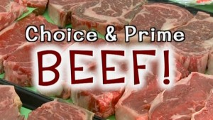 wide selection of beef at local market in Appleton WI