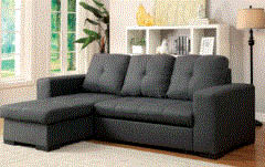 Living room sectional sofa with chaise