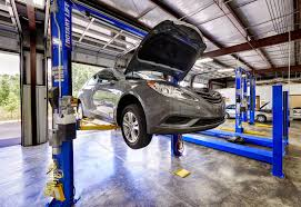 Automobile repairs and scheduled maintenance.