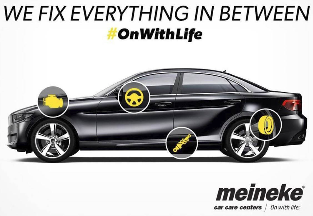 We fix everything in between at Meineke in Ft. Lauderdale FL