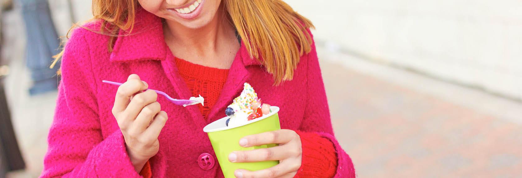 menchie's frozen yogurt photo