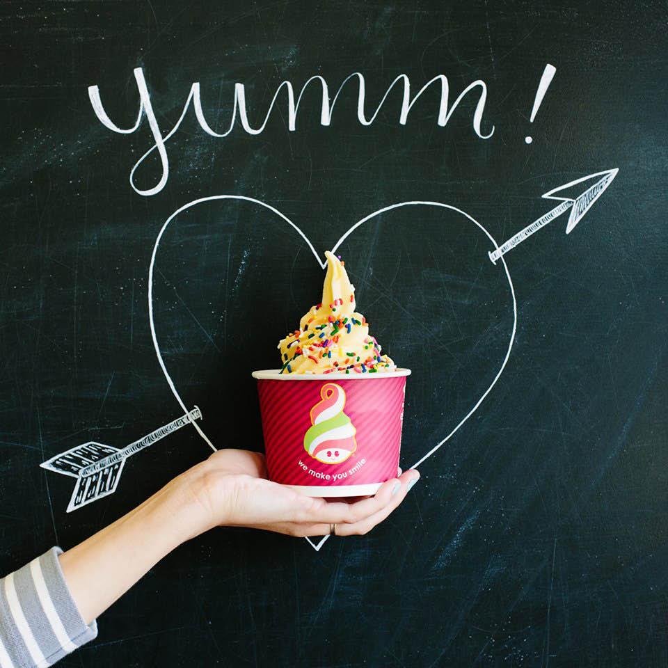 Menchies Frozen Yogurt on National Ave near Franklin, WI Yummmm