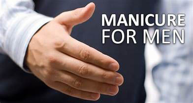 mens manicure and pedicure