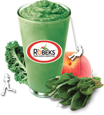 Take your workout to the next level with one of Robeks' Performance smoothies