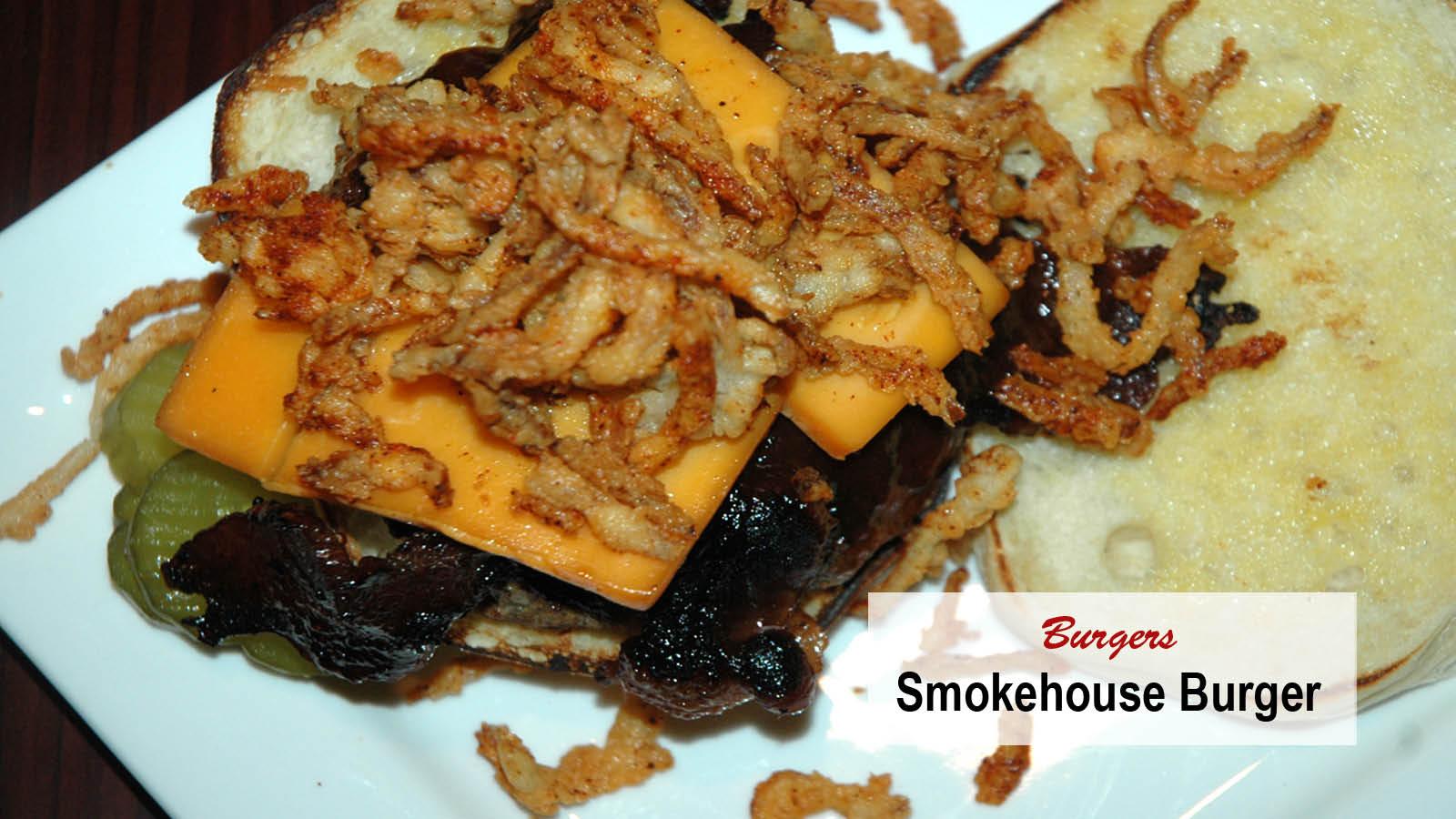 DuBois smokehouse burger - smokin' good