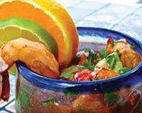 Mezcal Mexican Restaurant & Bar shrimp.