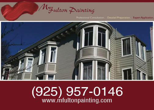 M. Fulton Painting martinez, ca serving the bay area for 20 years