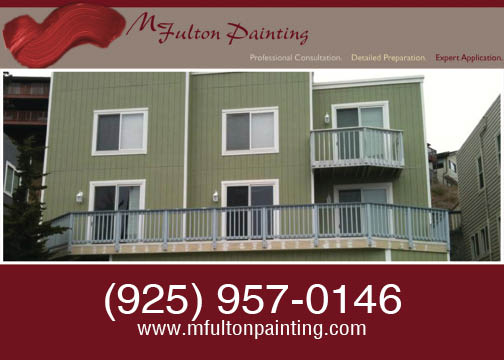 M. Fulton Painting bay area. We would love to repaint apartment complex or other commercial building.