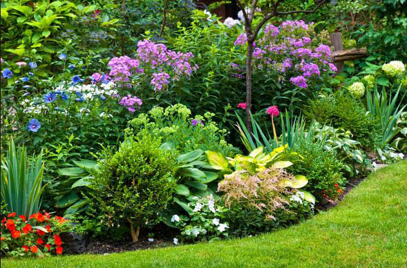 landscaping services performed by MG Boehm Landscaping in McDonald PA near me flowers trees walls