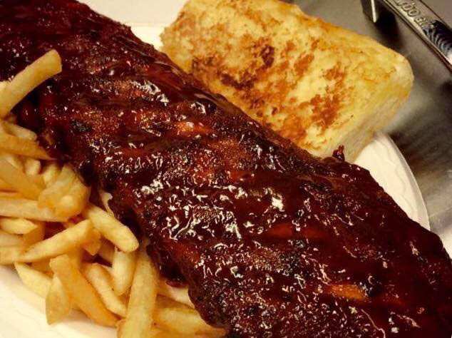 get bbq ribs and bbq chicken near Forest park, IL