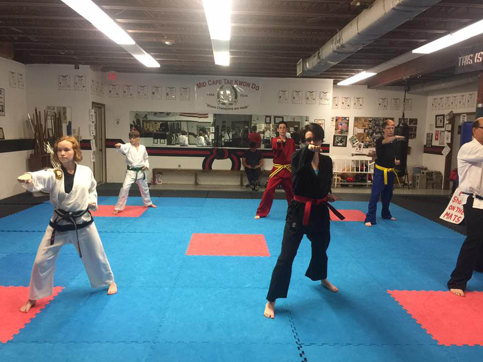 Enhance balance, get flexible, learn martial arts at Mid-Cape Tae Kwon Do