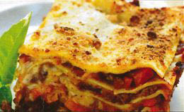 lasagna and other classic Italian dishes at Midtown Pizzeria.