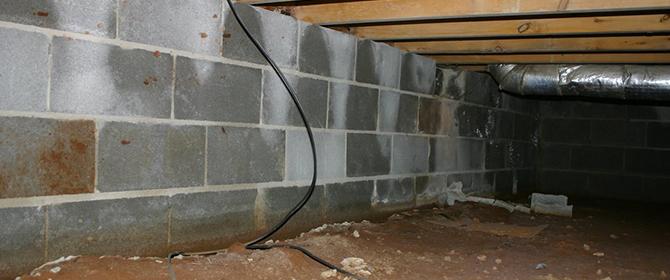 Crawlspace waterproofing in Kentucky
