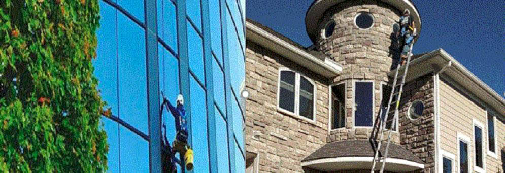 Residential and Commerical window cleaning with Michigan Elite Window Cleaning, Waterford, MI