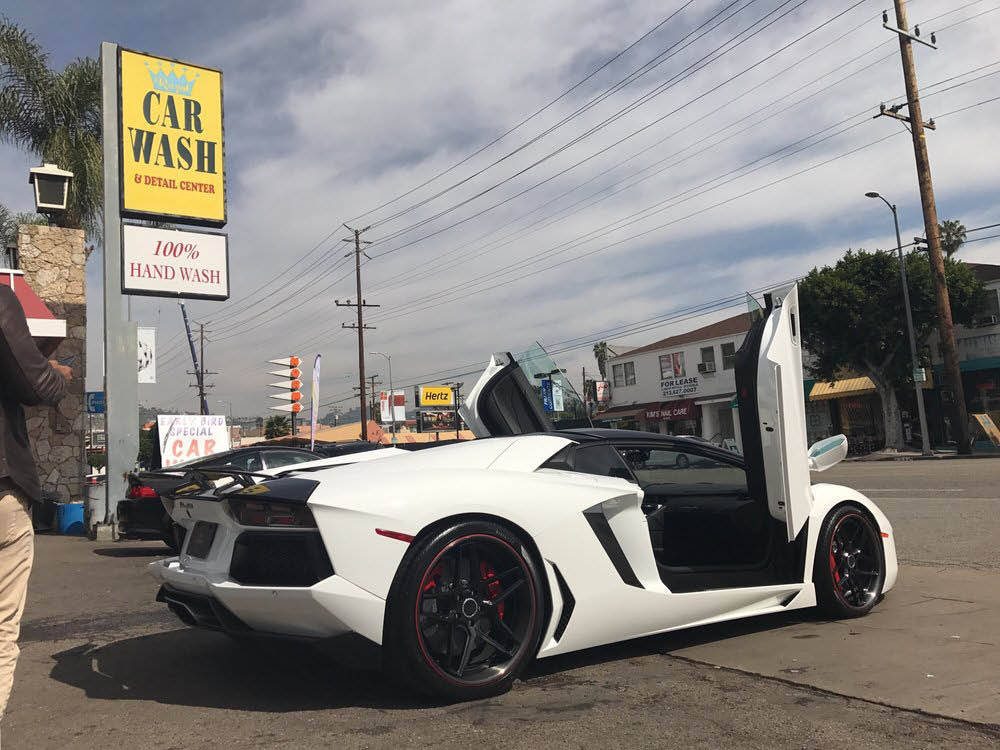 Auto detailing savings on the Miracle Mile