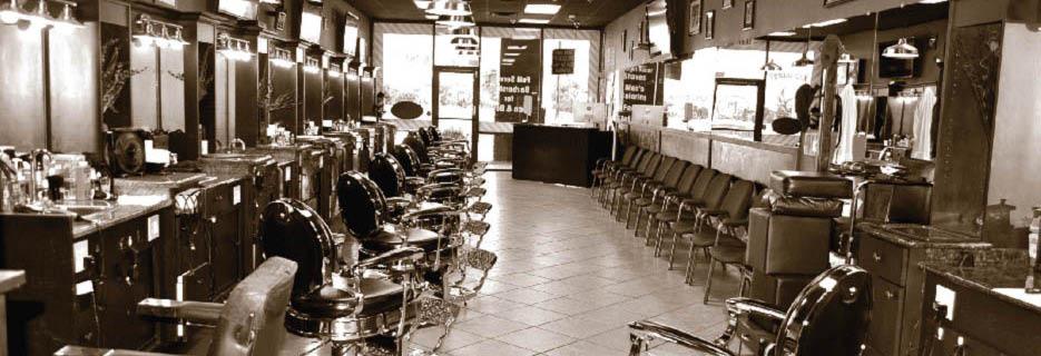 barber, barber shop machines, barber shop stations, barber shop straight razor shaving