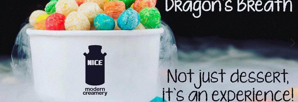 Milkster Nitrogen Creamery (aka Nice Modern Creamery) in Biggby Coffee, Macomb, MI