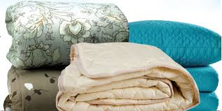 comforters; blankets; bedding dry cleaned