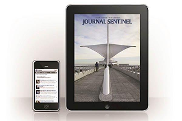 Milwaukee Journal Sentinel on you smart phone or tablet Racine