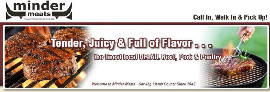 Buy a Minder Meats gourmet ham for your next event banner