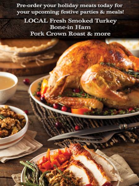 MinderMeats can create the perfect holiday meal