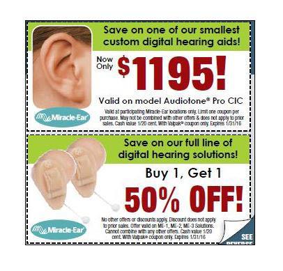 Hearing Aid Coupon Discounts Pasadena CA