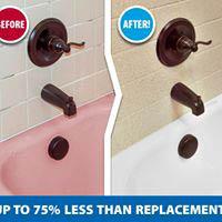 Miracle Method Muskego WI custom before after bathtub refinishing