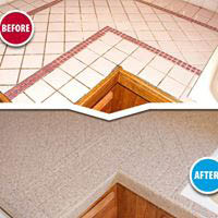 Miracle Method Muskego WI custom before after countertop refinishing
