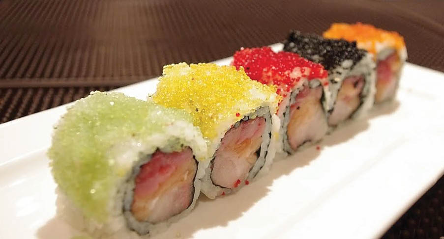 Delicious Japanese Sushi Rolls