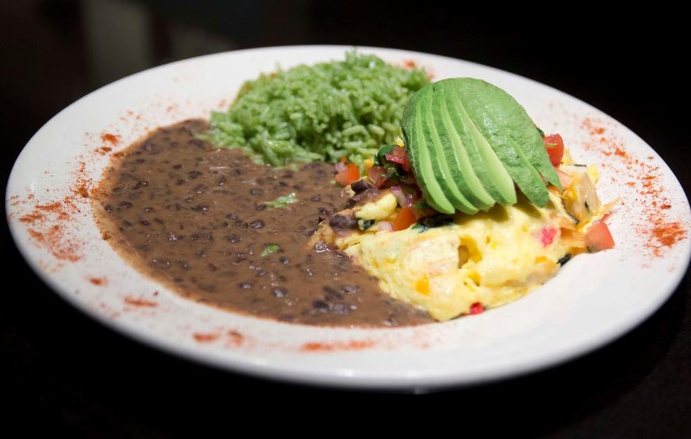 Breakfast food plates at Misto Caffe in Torrance CA