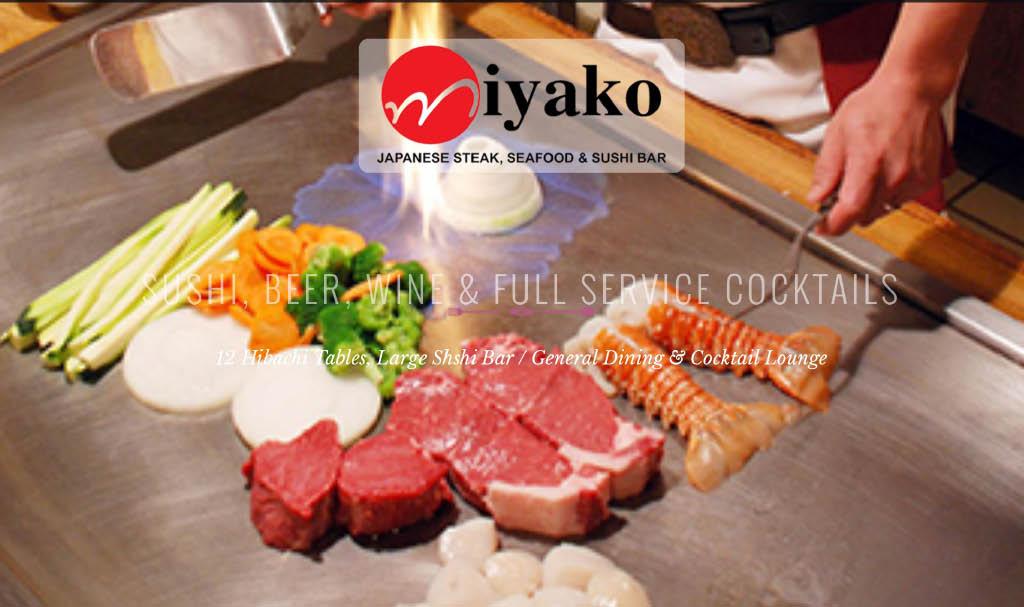 miyako Japanese Steak, seafood and sushi bar in frederick, md hibachi station