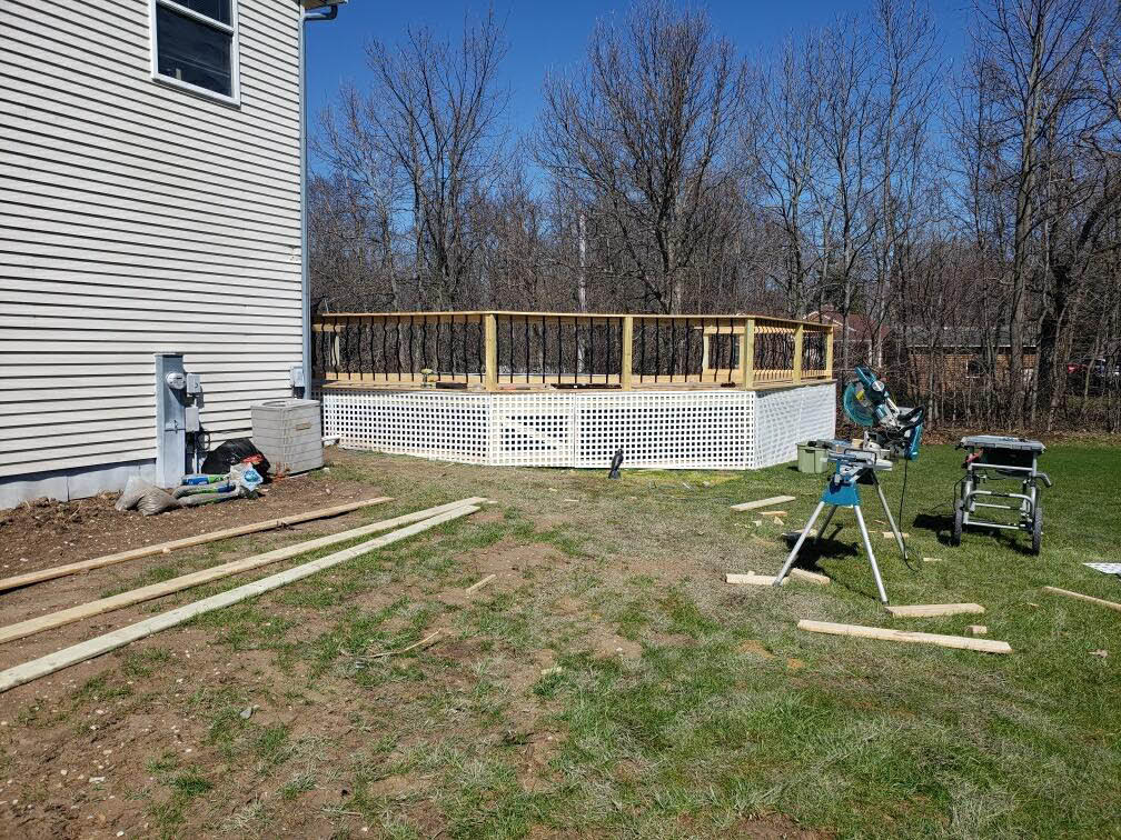MKE remodeling new deck build and install Greater Milwaukee Area
