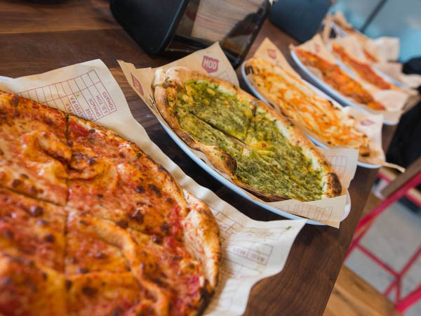 MOD Pizza toppings