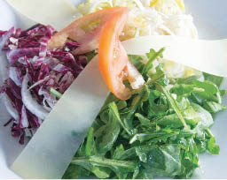Fresh salad, garden salad