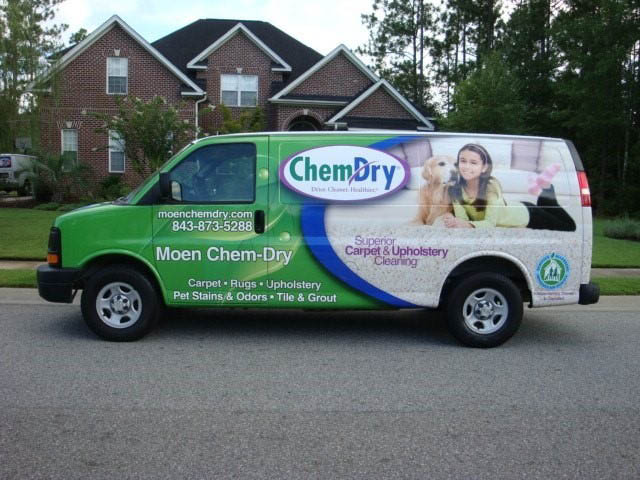 Moen Chem-Dry work vehicle images