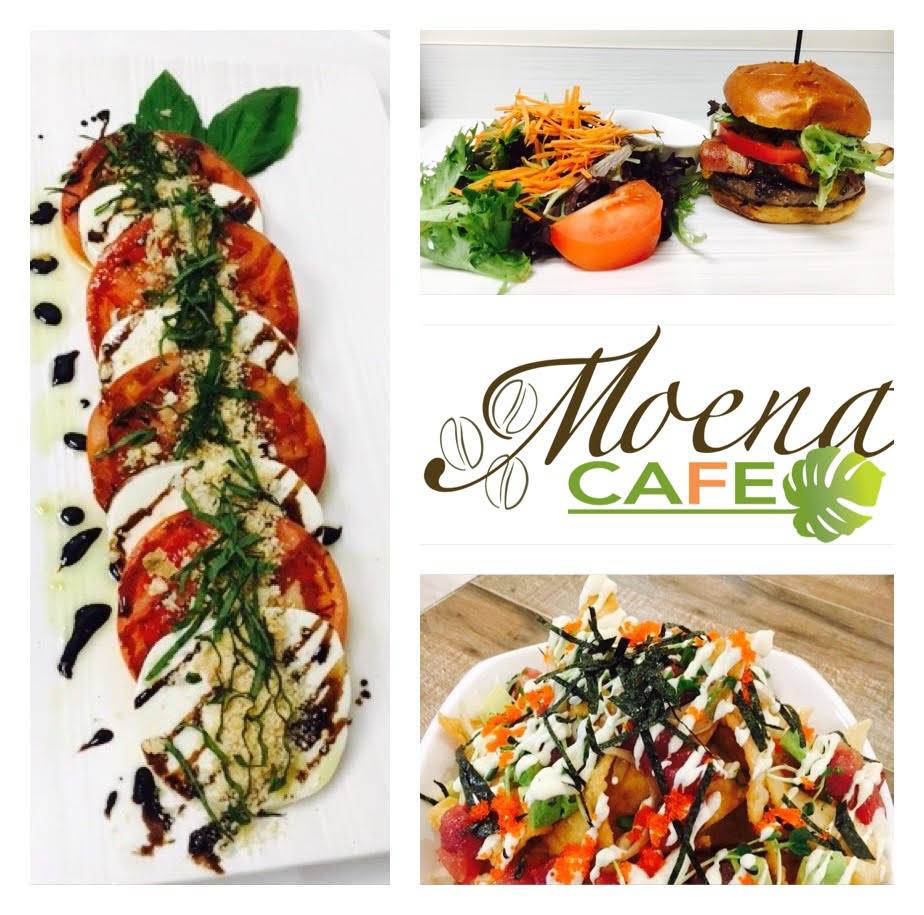 Moena Café has distinctive breakfast, lunch and dinner menus