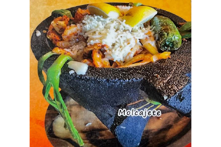 El Toro Mexican Restaurant Zionsville, IN Bravo food discount coupon Molcajete