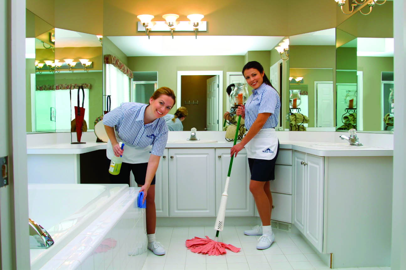 San diego molly maid home cleaning services for Bathroom cleaning companies