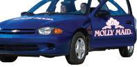 molly maid car