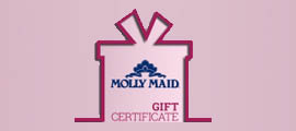 Molly Maid gift certificates