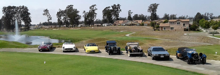 Monarch Dunes Golf Course also offers and amazing antique car show!