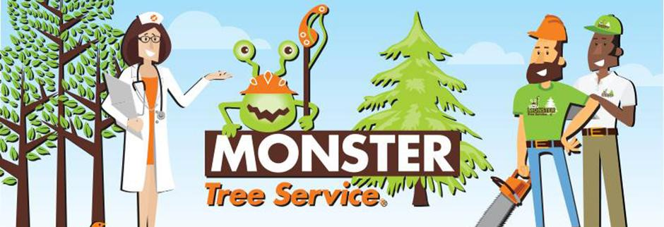 Monster Tree Service Southeast Wisconsin banner