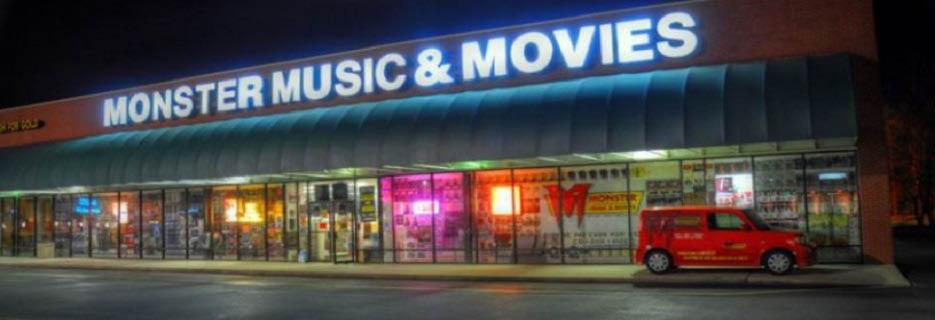 Monster Music & Movies in Charleston, SC banner