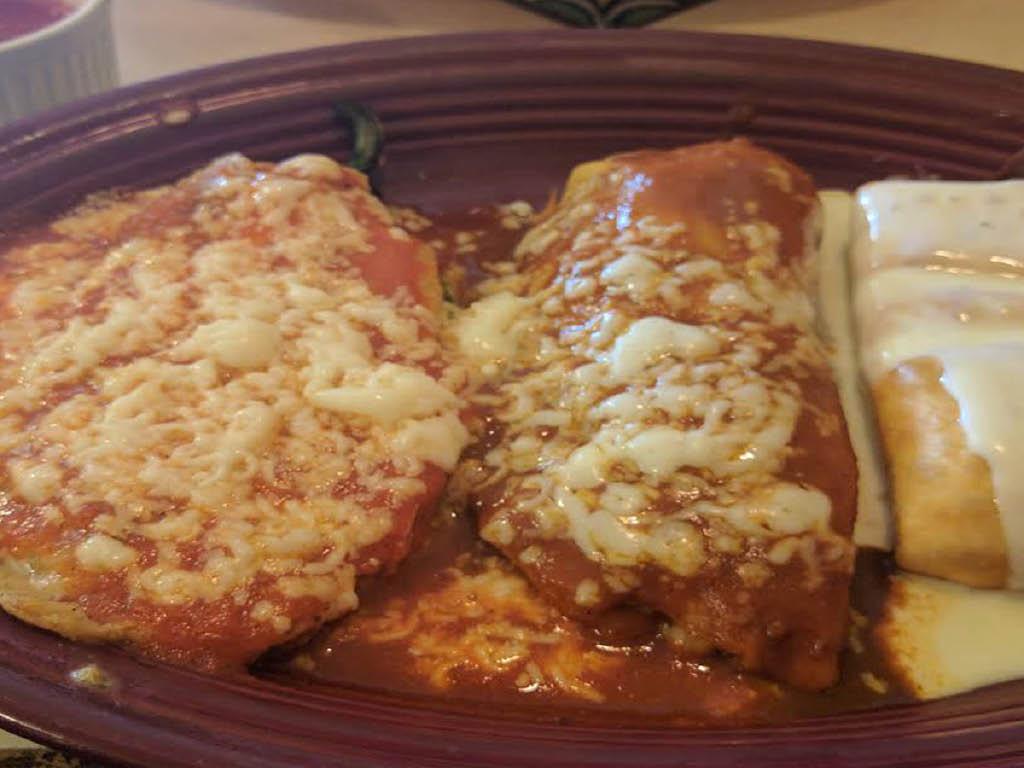 Monterrey Mexican Restaurant entree