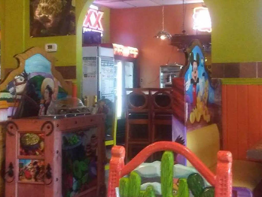 Monterrey Mexican Restaurant dining room