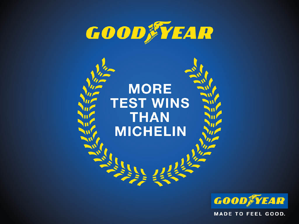 Goodyear's Summer, Winter and All-Season tires have been thoroughly tested